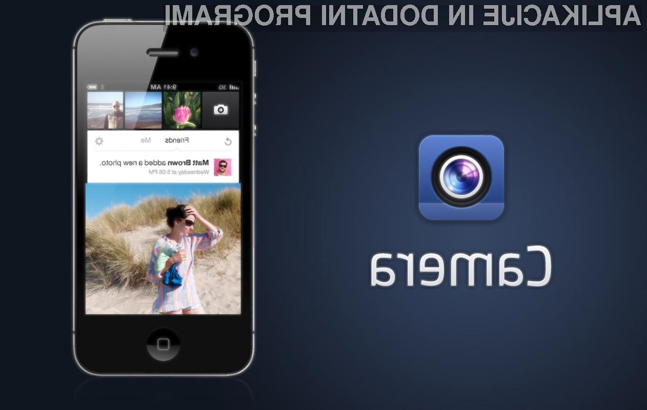 Facebook Camera bo močan udarec za Instagram.