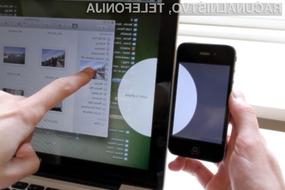Preprost, hiter in inovativen prenos podatkov med mobilnimi napravami.