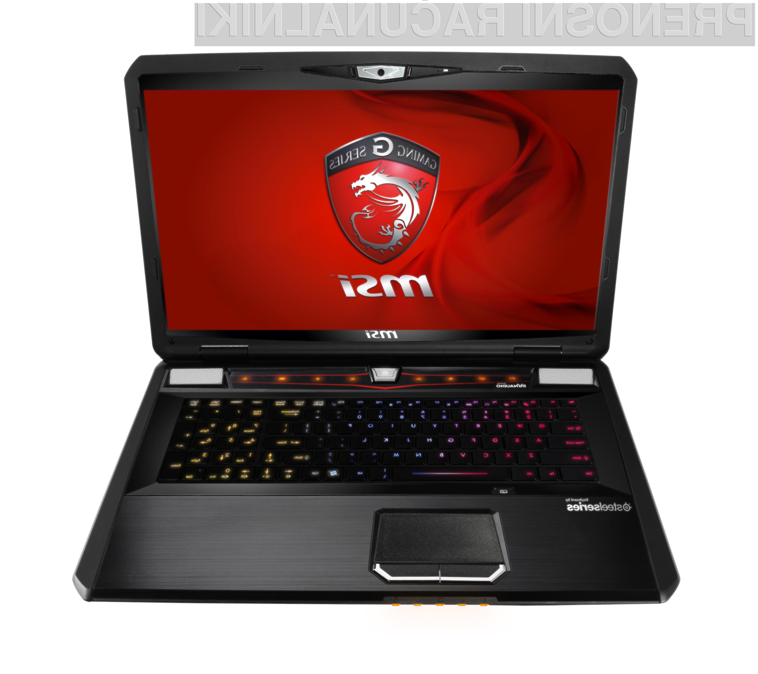 Intelov procesor Core i7-3610QM in Nvidija grafična kartica GeForce 670M bosta poskrbela za nepozabno izkušnjo.