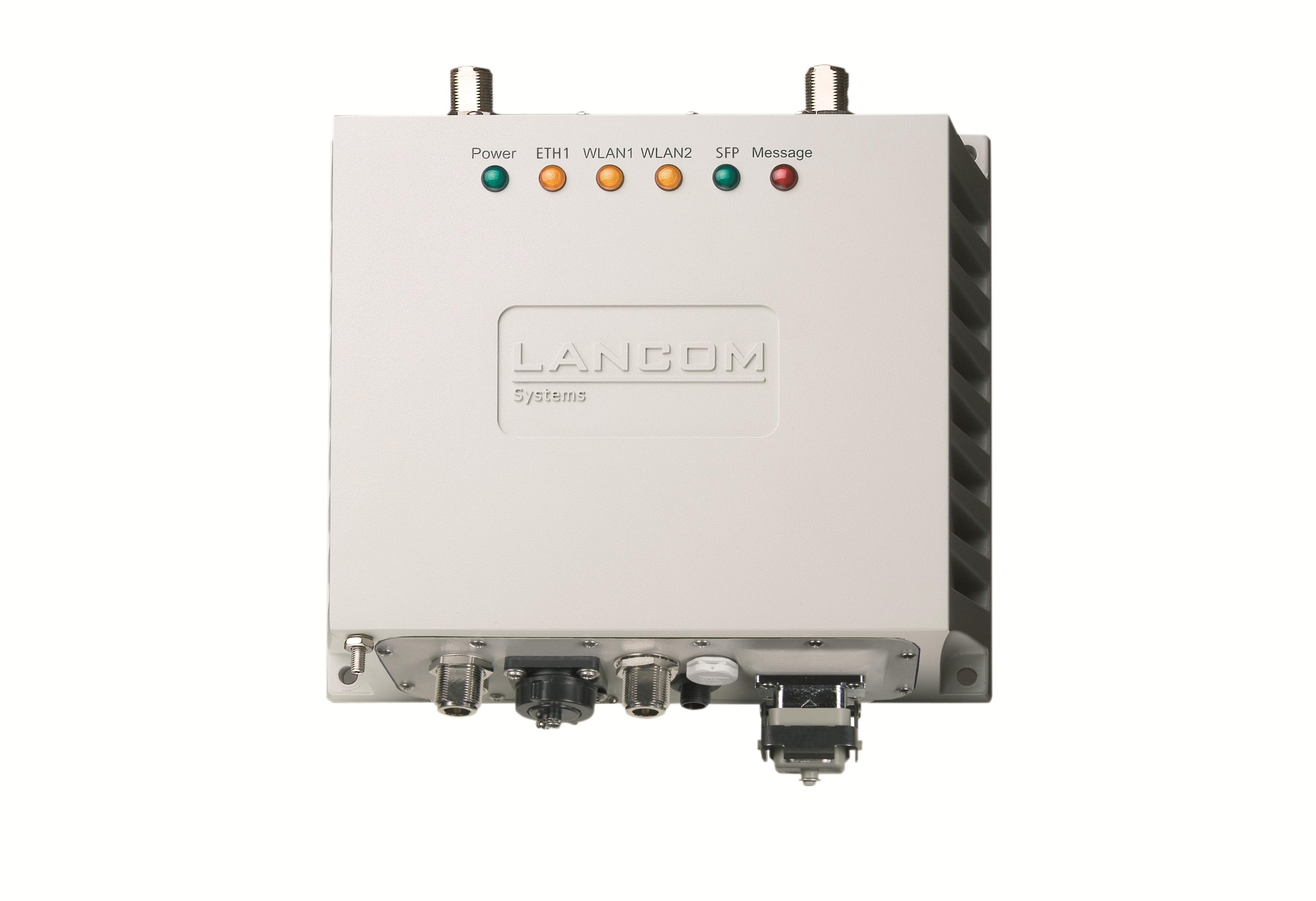 Robustno vododporno (IP66) ohišje z vgrajenima funkcijama hlajena in gretja pa zagotavlja zanesljivost delovanja dostopne točke tudi v ekstremnih temperaturah