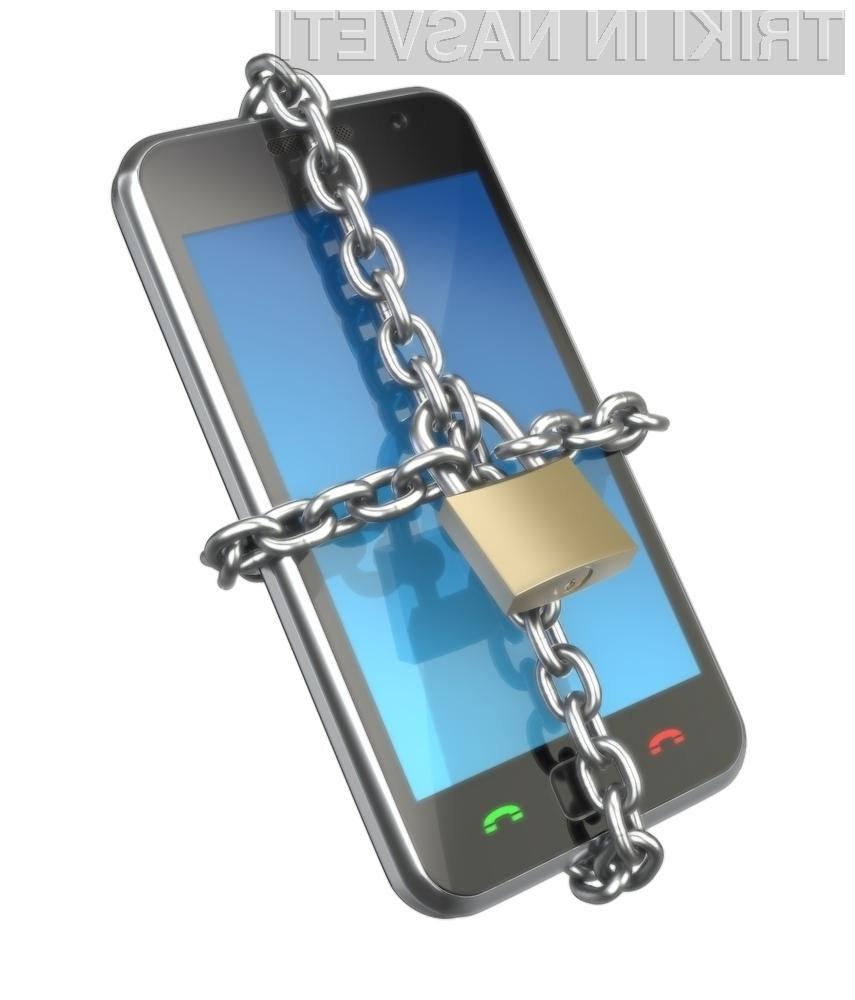 Vse več nepridipravov se do občutljivih podatkov dokoplje ravno preko pametnih telefonov.