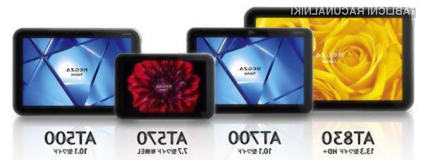 Vse štiri tablice bodo bazirale na operacijskem sistemu Android Ice Cream Sandwich.