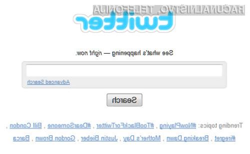Z natančnejšim iskanjem lahko pri Twitterju prihranimo veliko dragocenega časa.