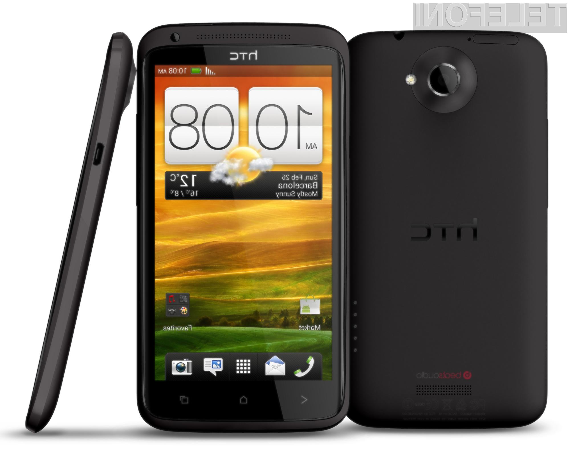 HTC One X se ponaša z izredno atraktivno obliko.