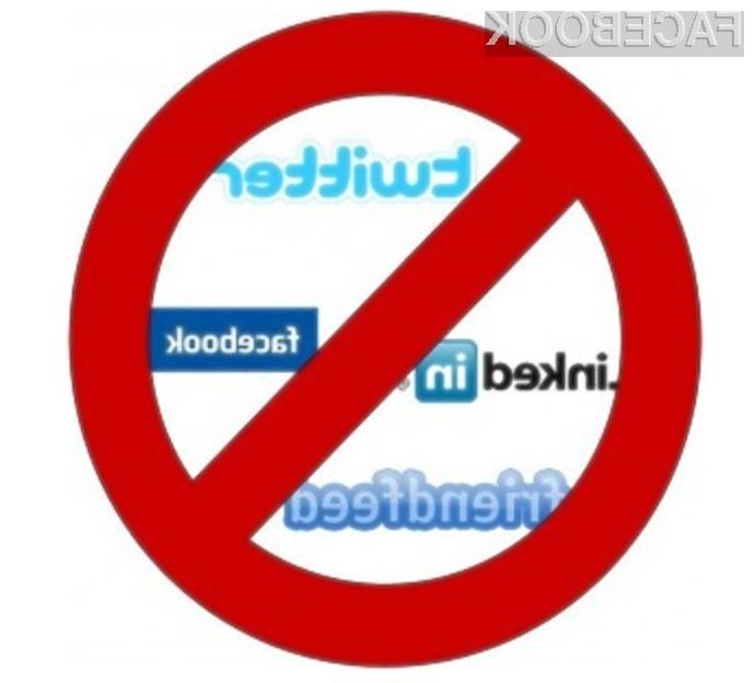 Z uporabo programa Anti-Social nas družbena omrežja ne bodo motila pri delu.