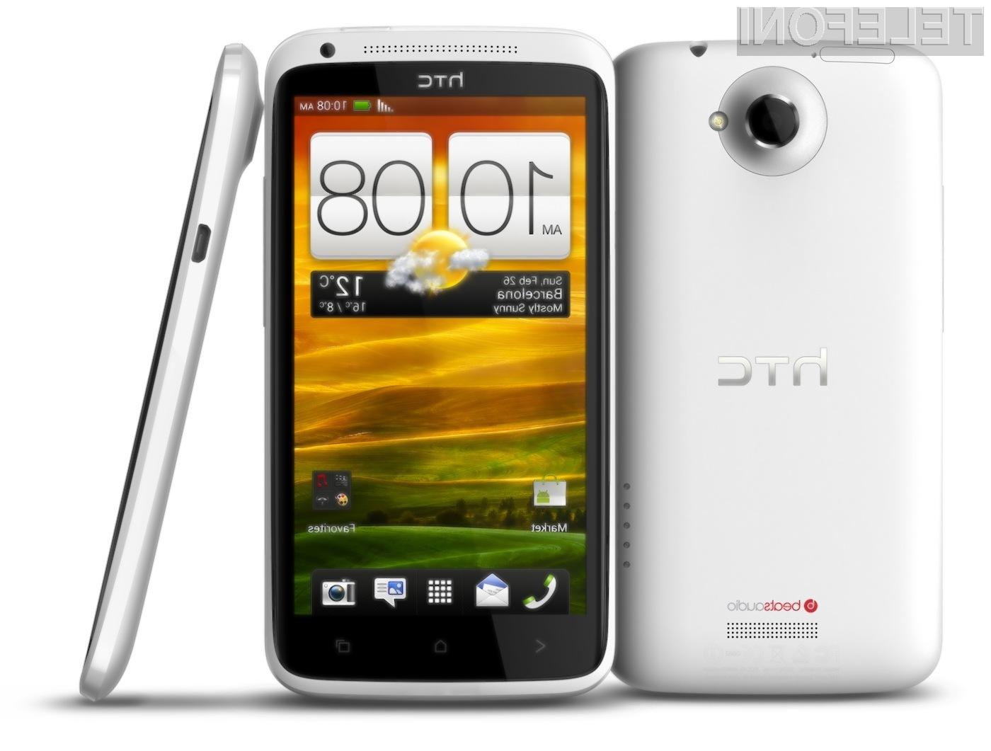 One X je trenutno najboljši pametni telefon podjetja HTC.