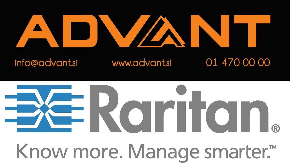Podjetje ADVANT, partner podjetja Raritan v Sloveniji, Vam omogoča ogled brezplačnega webinarja na temo podatkovnih centrov