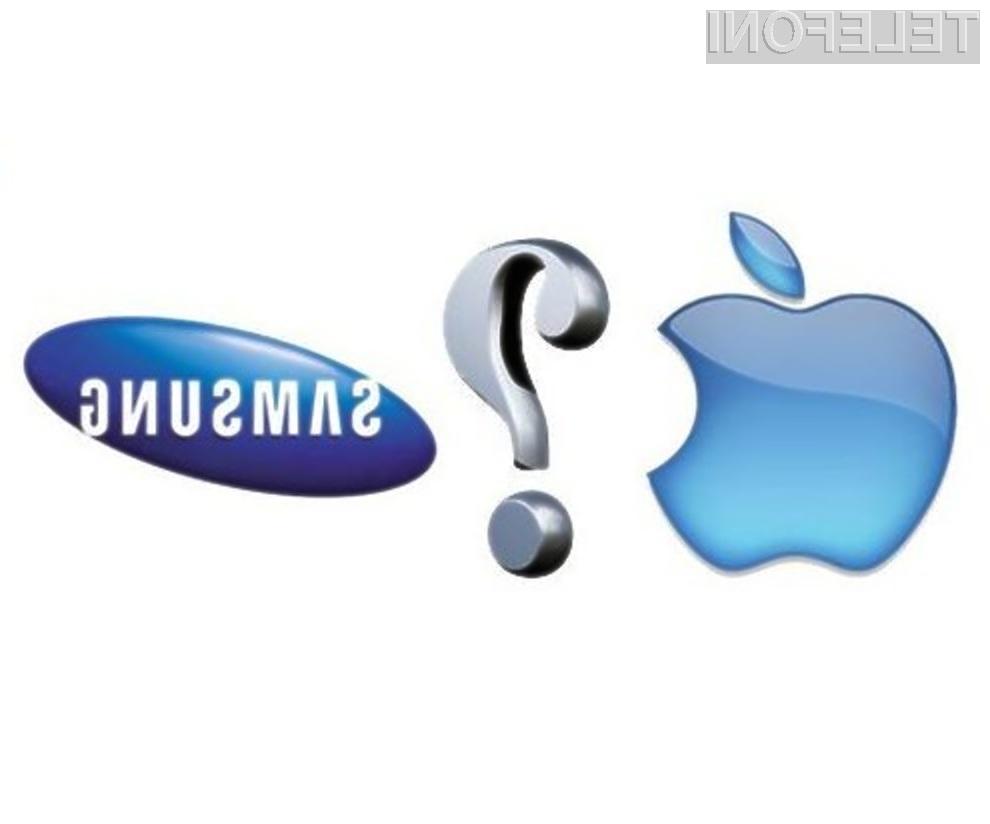 Ko uporabniki kupujejo pametne mobilnike se v več kot polovici primerov odločajo med Samsungom in Applom.