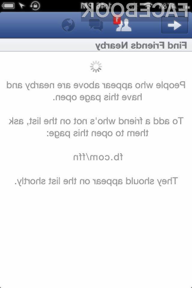 Nova funkcionalnost Facebookove mobilne aplikacije vam bo omogočila enostavnejše iskanje vaših znancev.