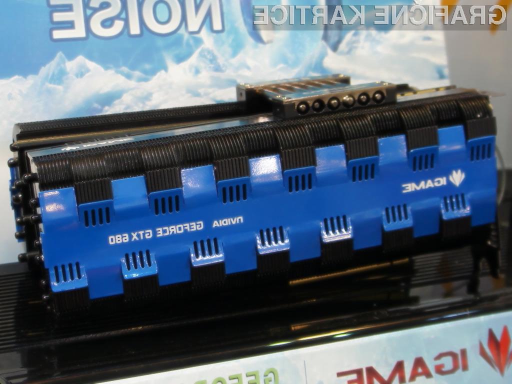 iGame GTX 680 Passive je grafična kartica opremljena kar z 20 toplovodnimi cevmi in 280 aluminijastimi hladilnimi lističi.