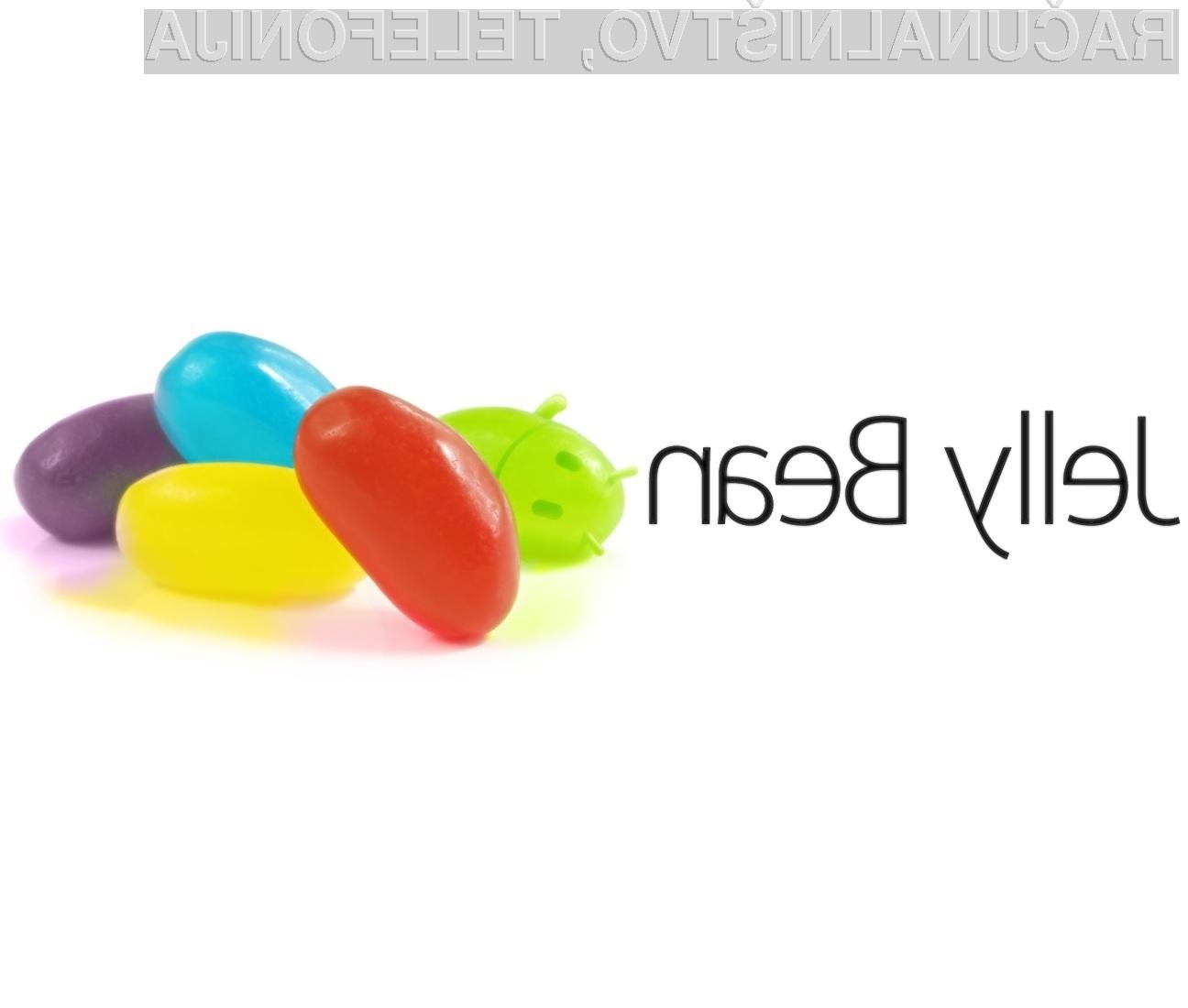 Uporabniki pametnih telefonov operacijski sistem Jelly Bean že težko pričakujejo.