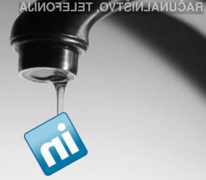 Poslovno družbeno omrežje LinkedIn aktivno uporablja le četrtina uporabnikov.