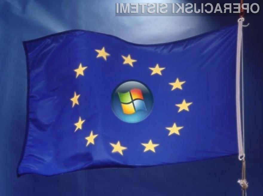 Izigravanje evropske monopolne zakonodaje bo podjetje Microsoft zelo drago stalo!
