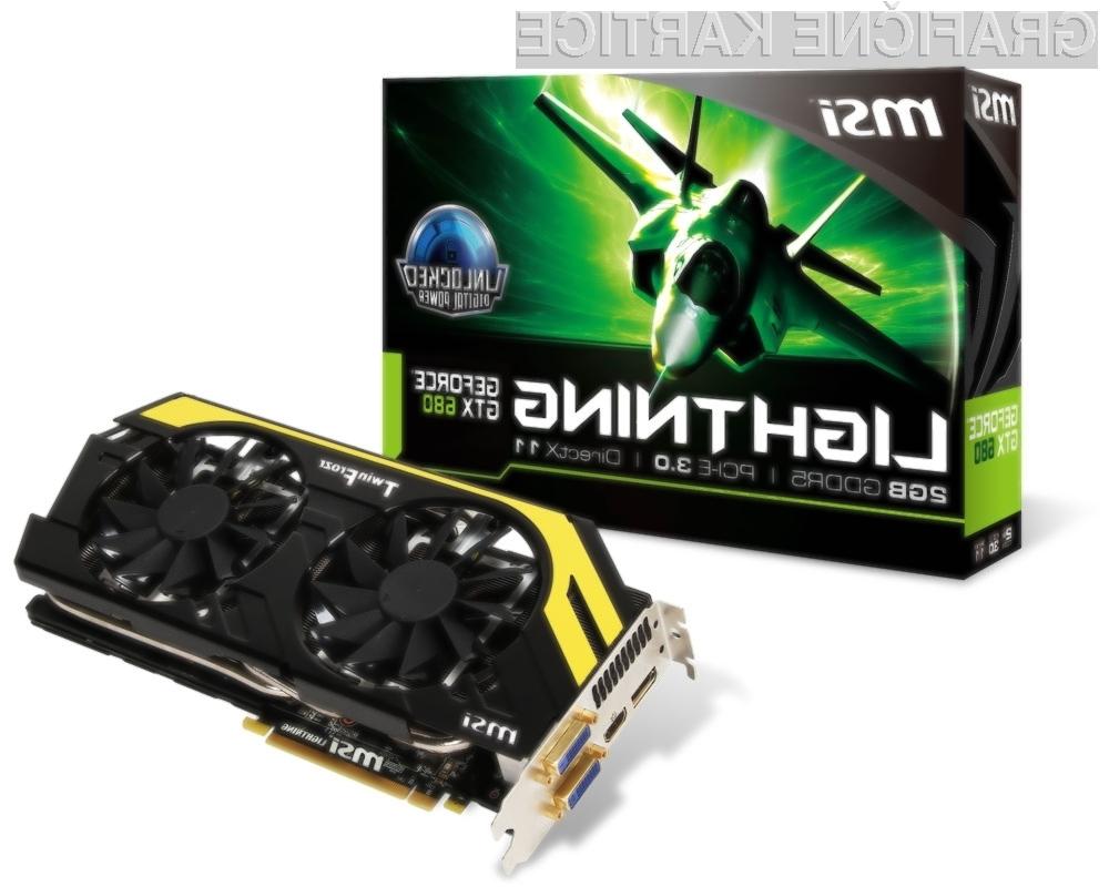 Razen grafičnega procesorja je celotna kartica izdelana znotraj podjetja MSI.