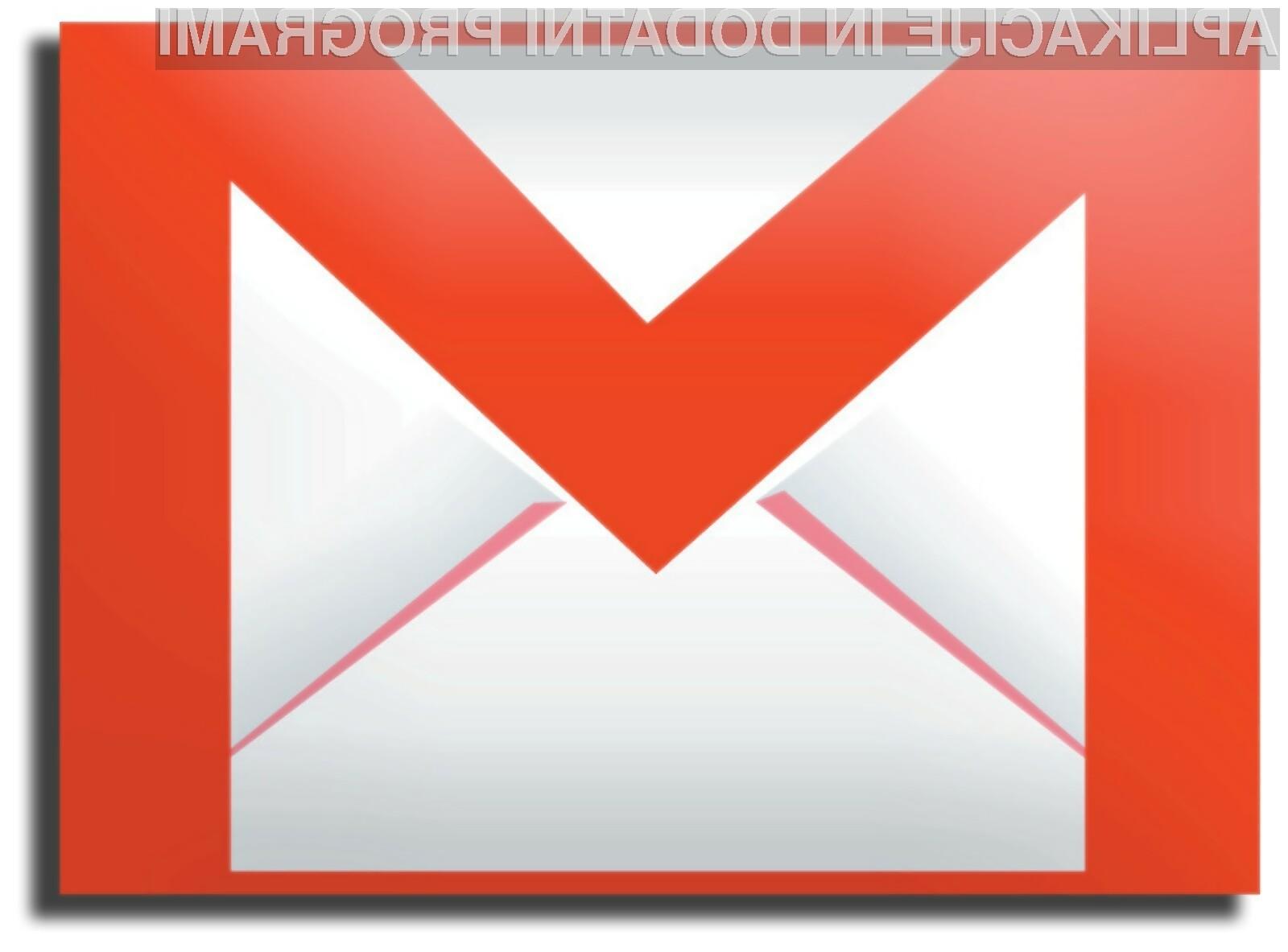 Gmail je trenutno največji ponudnik elektronske pošte.