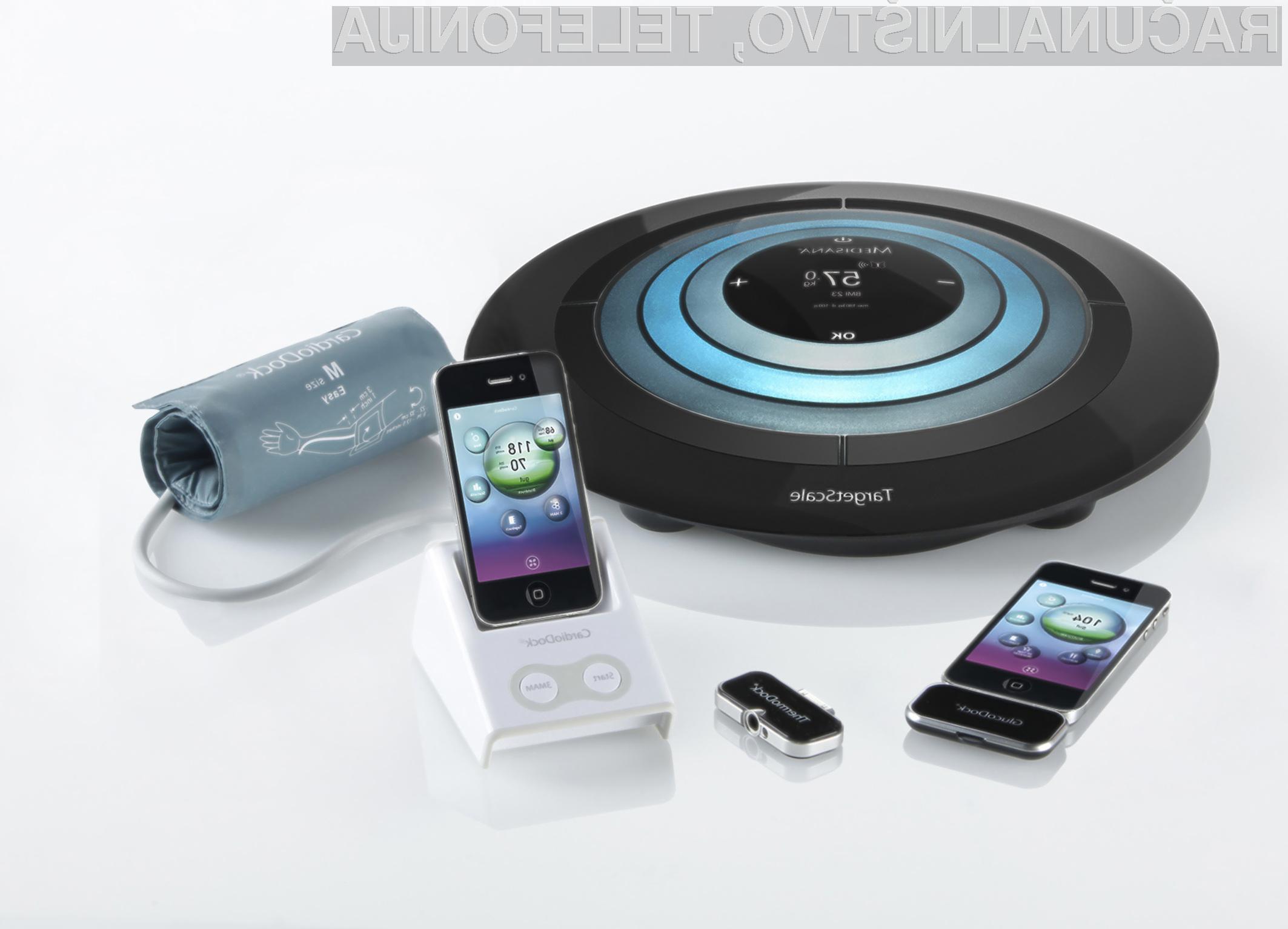 Odslej boste lahko vaše zdravje spremljali kar preko mobilnika iPhone ali tabličnega računalnika iPad.