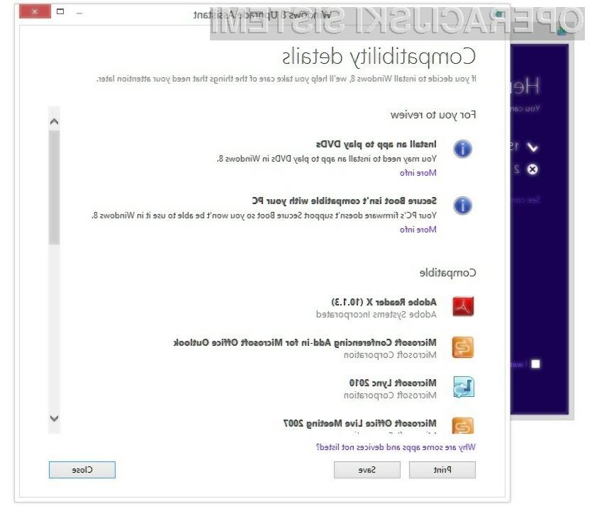 Upajmo, da bomo tako ugodne nadgradnje na Windows 8 Pro deležni tudi slovenski uporabniki Oken!