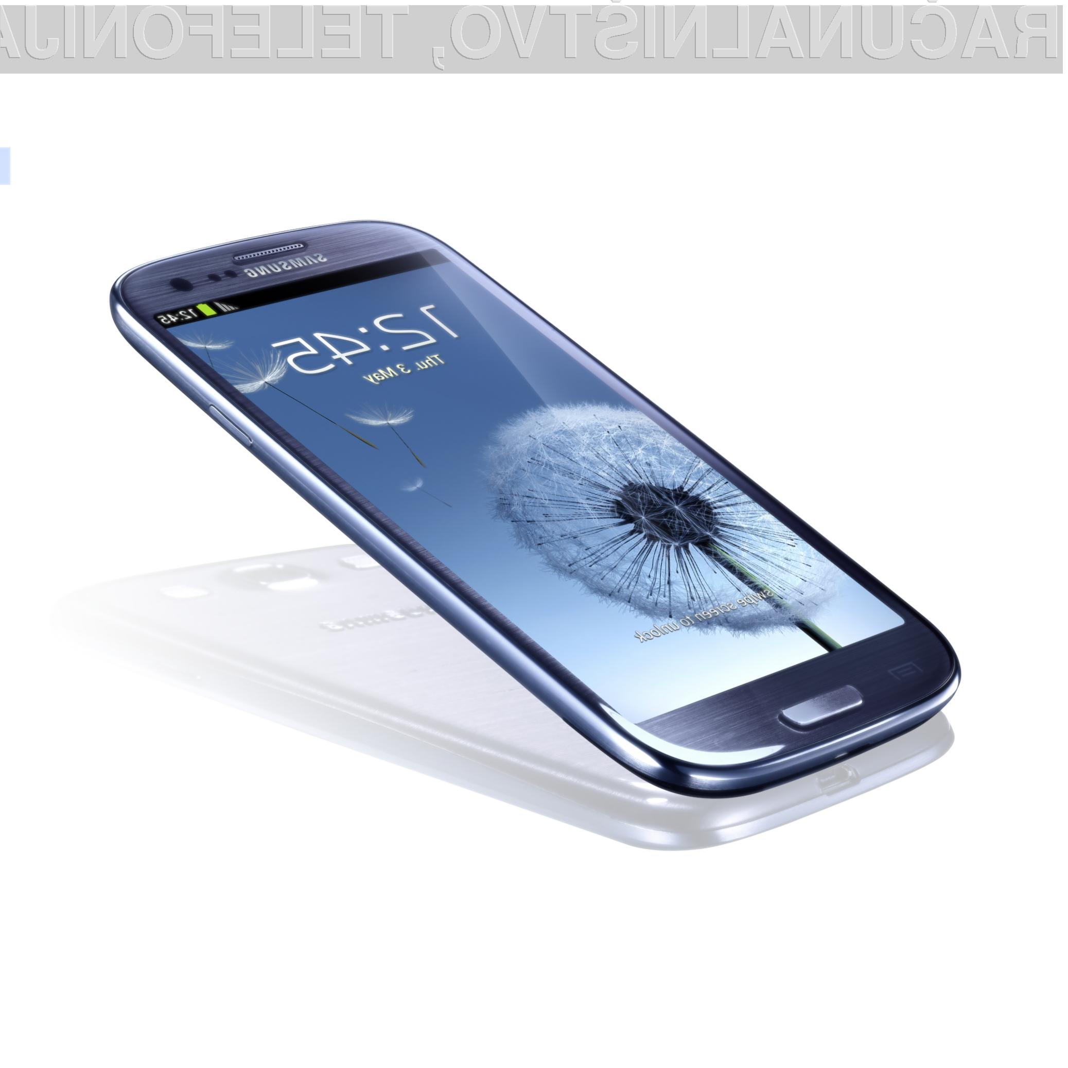 Samsungov Galaxy S3 je prav gotovo eden izmed najboljših modelov lanskega leta.
