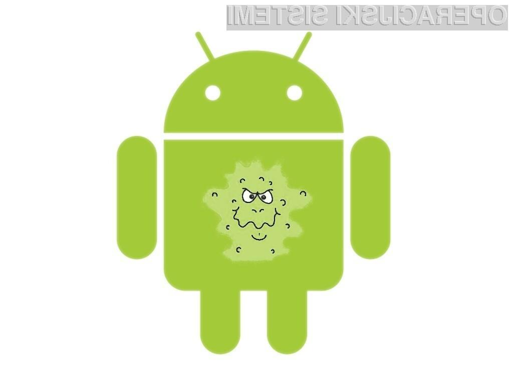 Okuženih aplikacij za operacijski sistem Android je iz dneva v dan več.