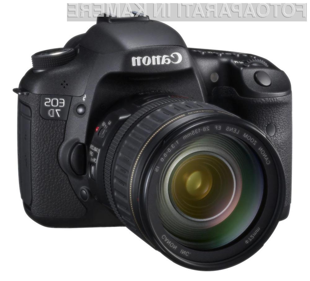 Digitalni fotoaparati Canon brez težav prenesejo tudi najhujše bremenitve.