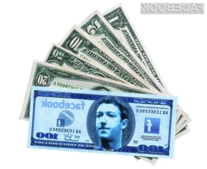 Bo Facebook še več zaslužil z reklamami?