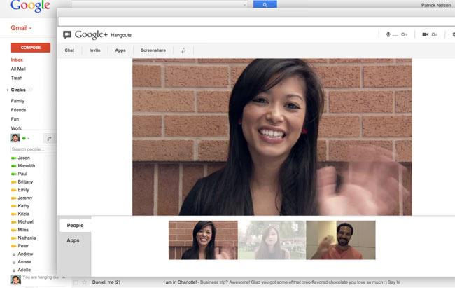 Gmail bo s tehnologijo Hangouts postal uporaben kot švicarski nož!