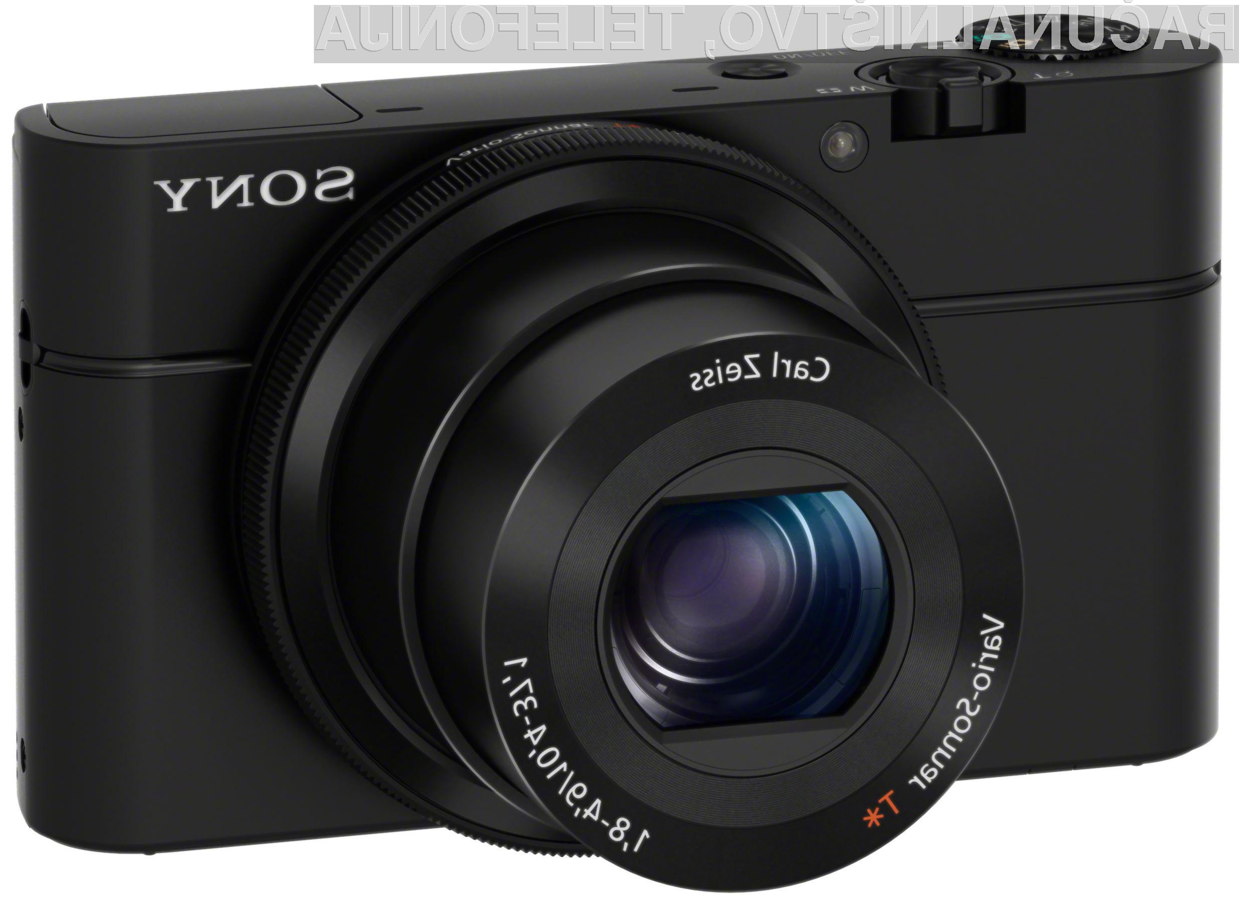 Sony Cyber-shot DSC-RX100: Zmogljivost, kakovost in kompaktnost v enem.