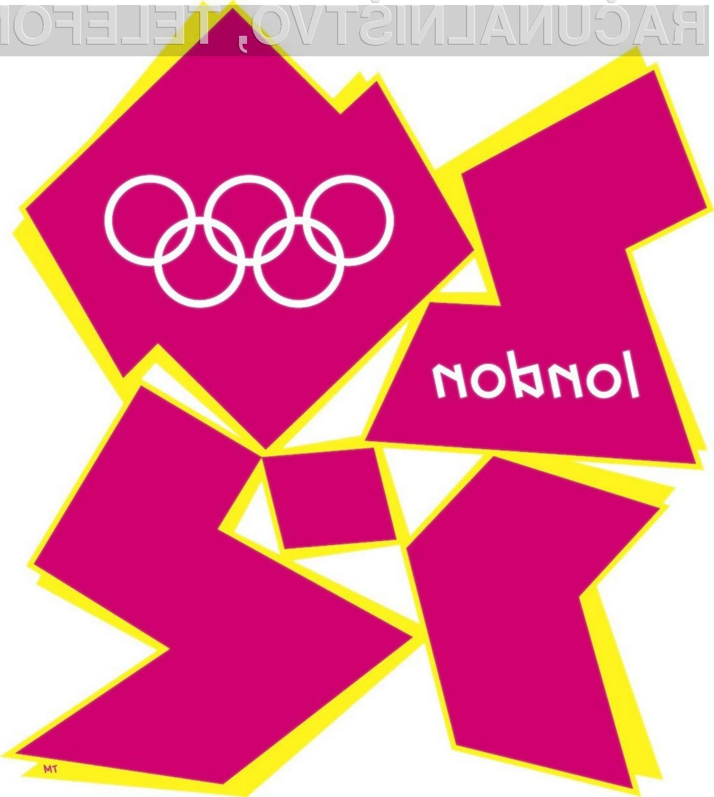 Olimpijske igre v londonu tudi iz tehnološke plati prinašajo številne presežke.
