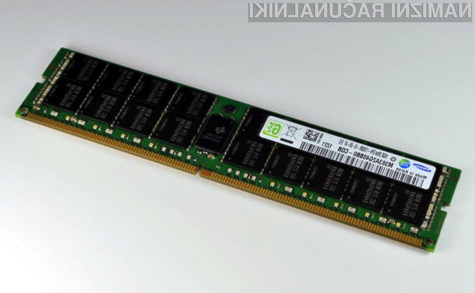 DDR4 pomnilniki bodo v prihodnjih dveh letih nadomestili pomnilnike tipa DDR3.