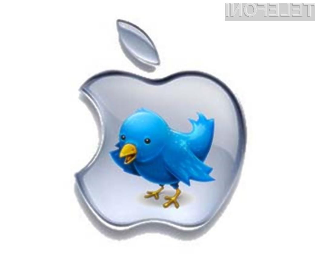 Apple in Twitter govoric o investiciji nista ne potrdila ne zanikala.