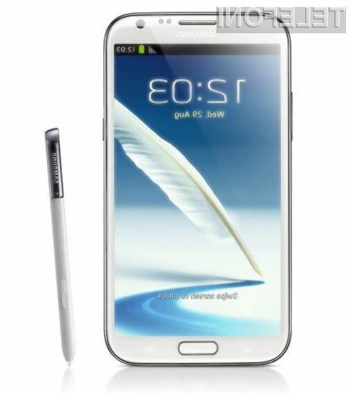 Samsung Galaxy Note2 s slabšim fotoaparatom zaradi prevelikega povpraševanja