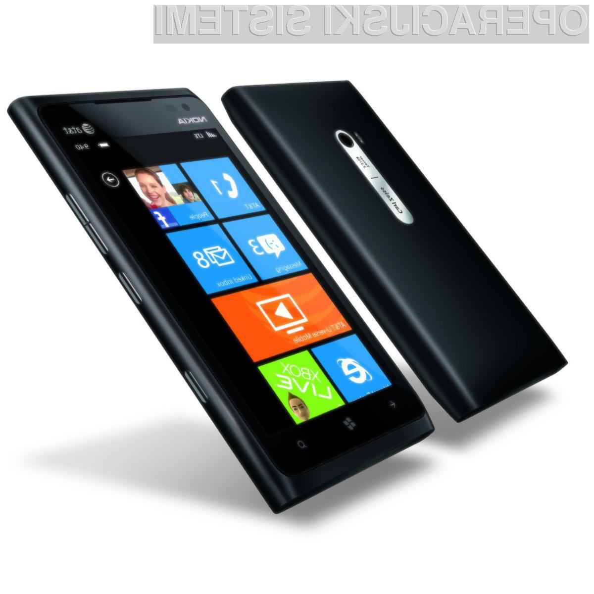 Nokia z 59-odstotnim tržnim deležem med mobilniki z Windows Phoneom