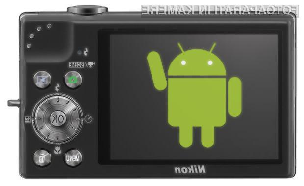 Coolpix S800c bo Nikonov prvi model, ki se bo lahko pohvalil z operacijskim sistemom Android.