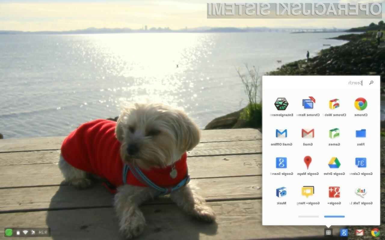 Googlov operacijski sistem Chrome OS postal lepši in uporabnejši