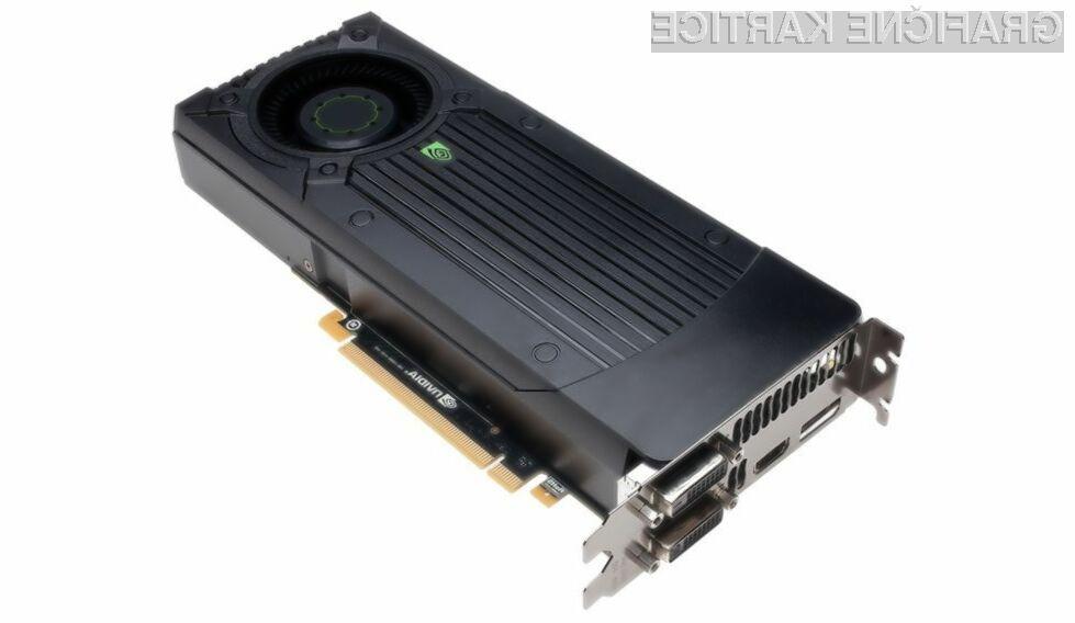 Znane specifikacije Nvidijinega modela GTX 660
