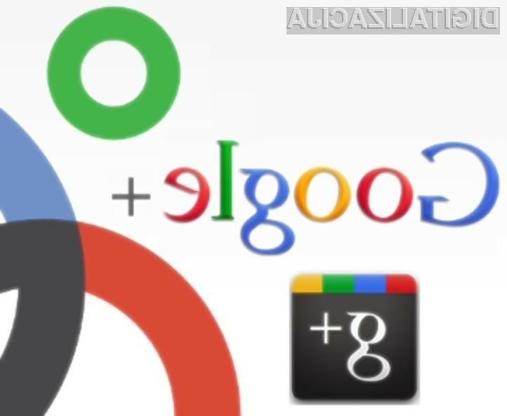Družbeno omrežje Google+ bi po številu uporabnikov lahko Facebook preseglo že proti koncu letošnjega leta!
