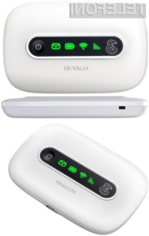 Huaweijevi WI-FI napravi odlikuje predvsem precej zanimiva oblika.