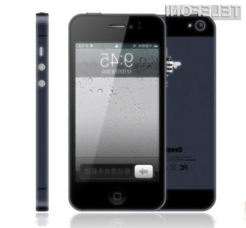S pametnim mobilnim telefonom Goophone i5 bomo vedno v središču pozornosti.