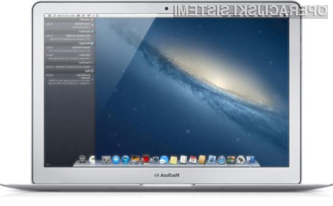 S posodobitvijo operacijskega sistema OS X Mountain Lion bo vaš prenosnik Apple deloval uro dlje!