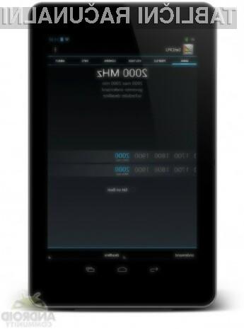 Procesor cenovno ugodne tablice Google Nexus 7 se navija kot za stavo!