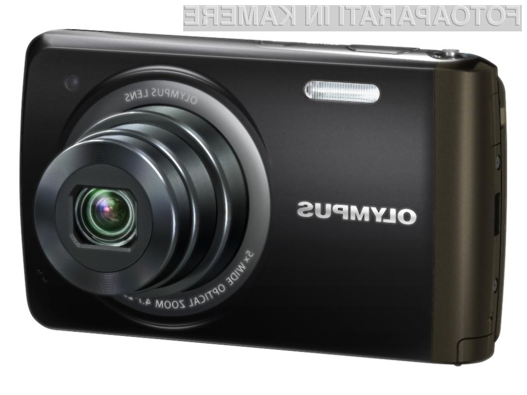 Za zajem fotografij Olympusov VH-410 uporablja kar zaslon občutljiv na dotik.