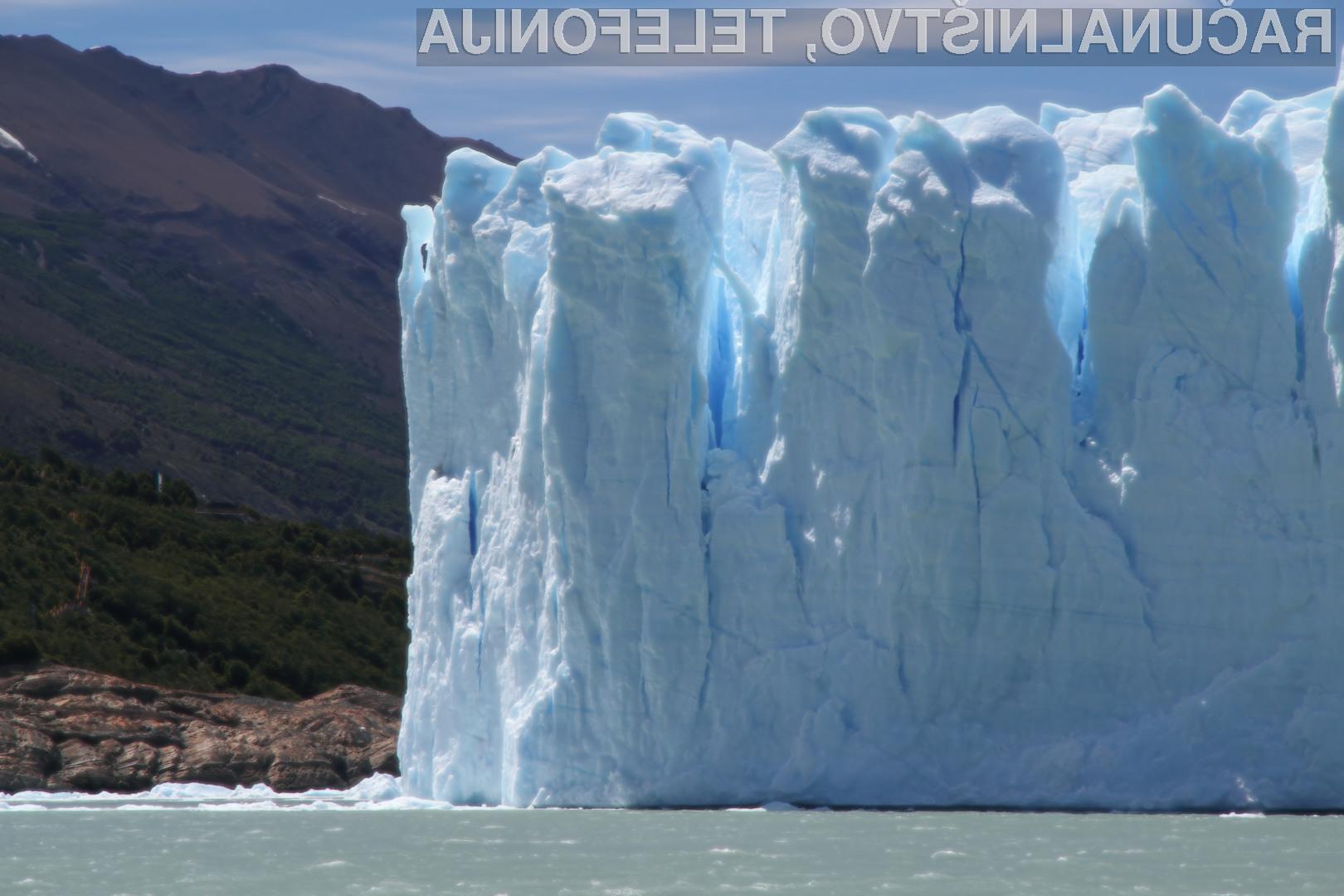 Amazonov ledenik za dolgotrajno hrambo podatkov