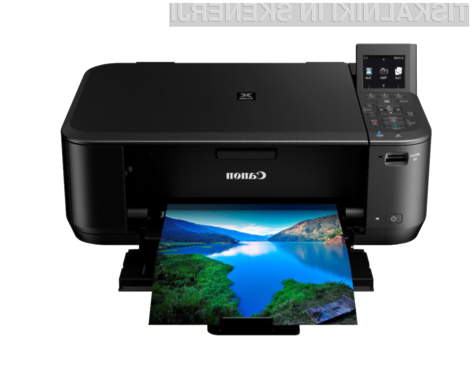 Novi Canonovi tiskalniki so optimizirani za spletno tiskanje in domači tisk fotografij.