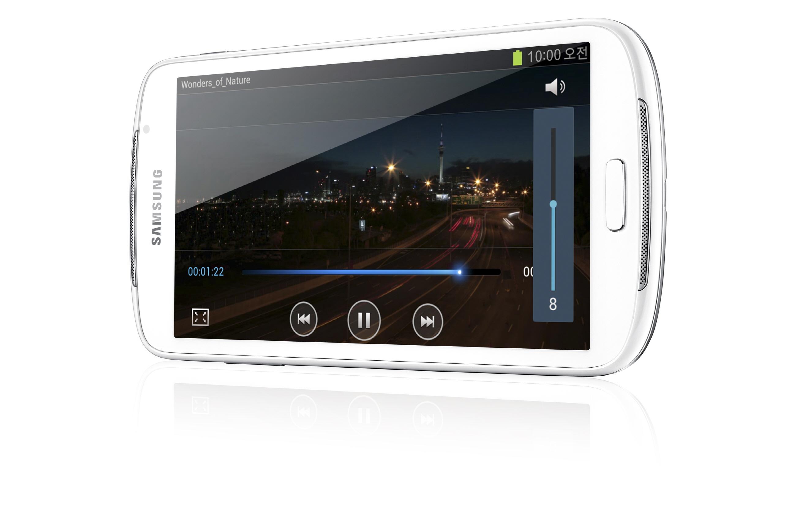 Prenosni predvajalnik Samsung Galaxy Player 5.8 je dejansko tablični računalnik v malem!