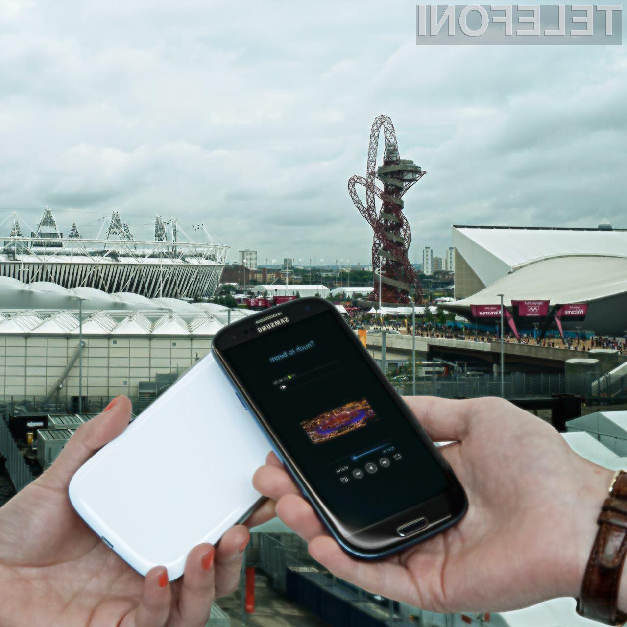 Samsung je eden izmed glavnih sponzorjev letošnjih olimpijskih iger.