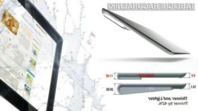 Nove Sonyjeve tablice bodo temeljile na štirijedrnih Nvidijinih procesorjih Tegra 3.