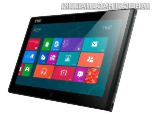 Tablični računalnik Lenovo ThinkPad Tablet 2 je kot nalašč tako za delo kot za preživljanje prostega časa.