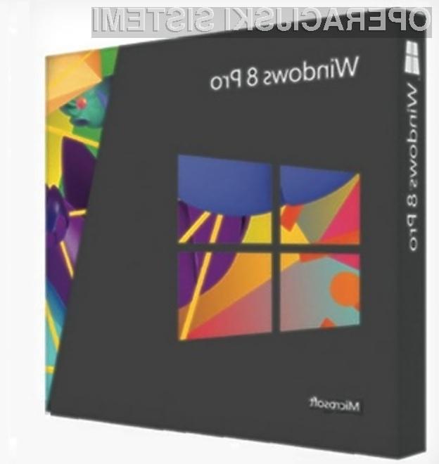 Windows 8 Pro v prosti prodaji 200 evrov?
