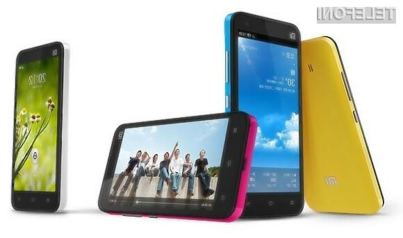 Xiaomi Mi2 bo za 250 evrov ponudil precej več kot konkurenca.