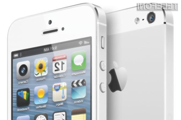 Apple si na račun novega mobilnika iPhone 5 obeta bajne zaslužke!
